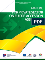 Manual for Private Sector on EU Pre-Accession Assistance