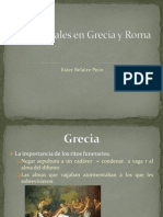 Los Funerales en Grecia y Roma