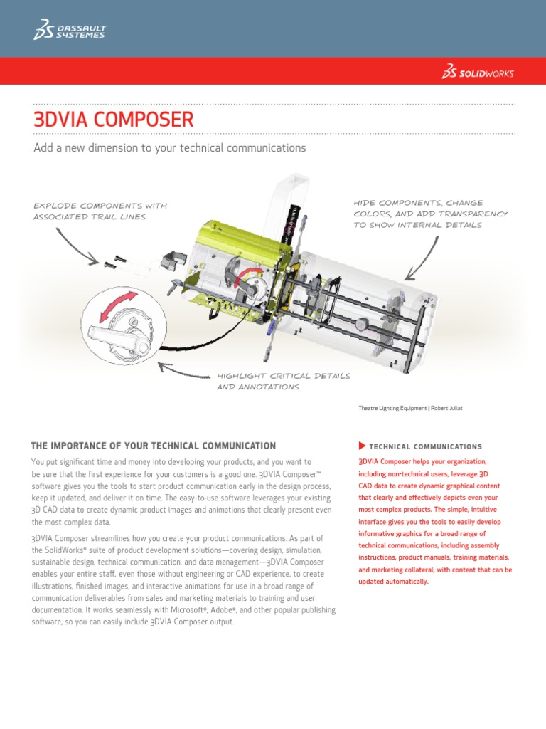 Solidworks Composer | Technical Communication | Computer