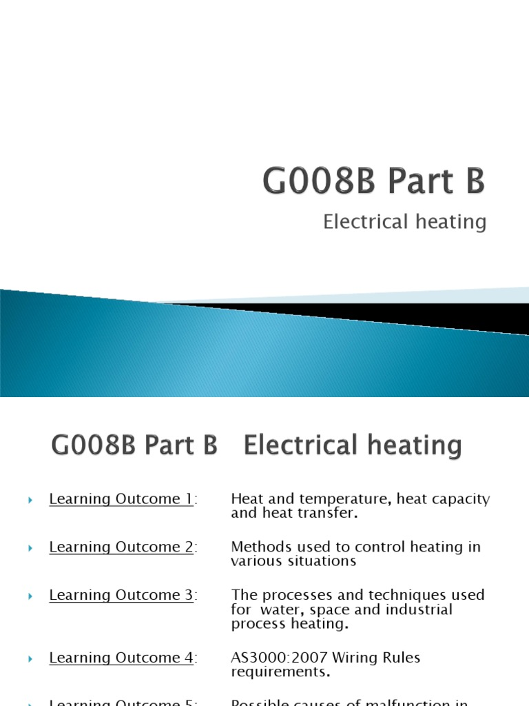UEE | Water Heating | Thermostat