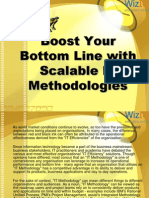 Boost Your Bottom Line With Scalable IT Methodologies