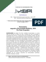 Anarquismo - Piotr Kropotkin - BPI