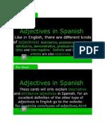 Basic Spanish (Adjective)