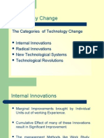 Technology Management - Technological Change