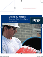 GUIDE DU MACON Holcim Ciment France