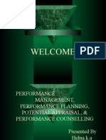 Performance Mgt,Planning Conciling and Pottential Appraisal..by shahid Elims