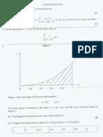 C4 Integration - Past Paper Questions