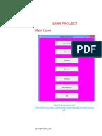 core java bank management project