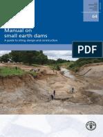 Manual de pequeñas Represas de Tierra.pdf