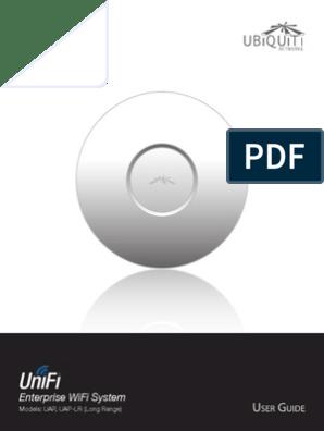 UniFi AP AP-LR User Guide | Wireless Access Point | Wireless Lan