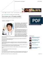 Tax Evasion Case vs Pacquiao Mulled | Manila Bulletin | Latest Breaking News | News Philippines