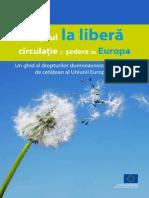 Ghid libera circulatie in UE