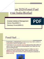 Vision 2020-Fossil Fuel Free India