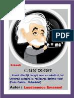 100 + 1 Citate Celebre de Emanuel Laudacescu 2014