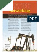 Enabling Digital Oilfields With Radio Networking