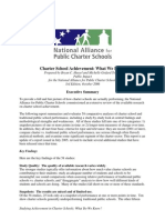 Charter School Achievement What We Know