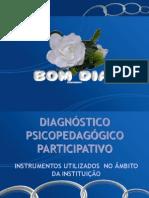 COM EFEITO Diagnostico Psicopedagogico Institucional Participativo