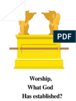 Worship What Has God Established
