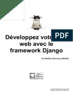 Developpez Votre Site Web Avec Le Framework Django