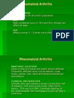 #Rheumatoid Arthritis