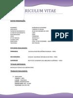 Curriculum Vitae1111111
