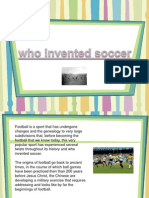 Who Invented Soccer