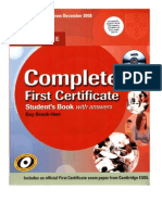 Complete FCE Student's Book With Answers