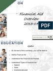 $$ - 60 Min - Revised Financial Aid_fin Aid Final 2013-14