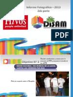 informe fotogrfico hivos 2da parte 2013