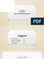 OSI Open System Interconnection