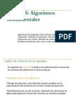 Unidad 5 Algoitmos Fundamentales 2011