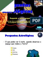 Perguntas Astrológicas