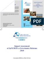Imptact Assessment JnNURMs E-Governance Reforms 20412