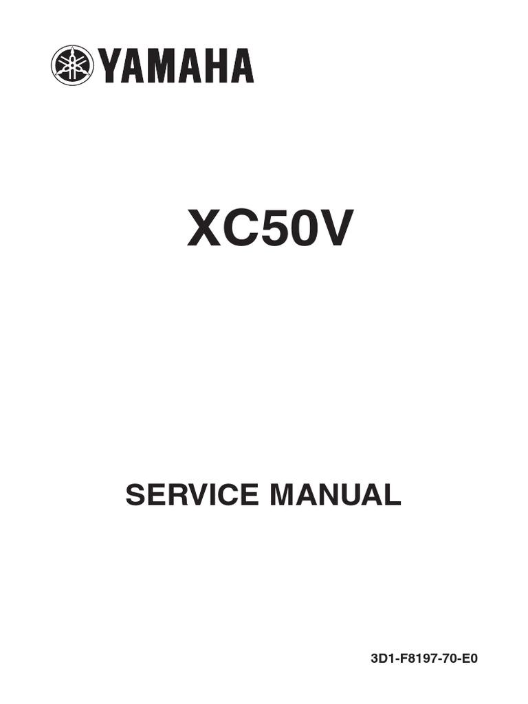 Yamaha Vino 50 Wiring Diagram Free Download Diagrams Service Manual 2006 2009 Screw Piston 23 At Sulit Com