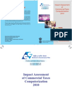 Impact Assessment Commercial Tax Computerization
