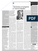 Noticia Oscar Varsavsky
