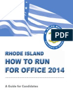 RI How to Run for Office 2014