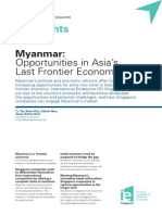 Vol 2 Myanmar Opportunities in Asias Last Frontier Economy Jul 12