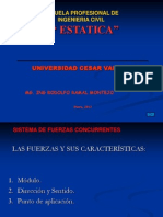 Introduccion Al Curso de Estatica- UCV