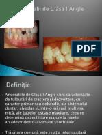 120247664 MD v Curs 5 Clasa I Angle Diastema Si DDM
