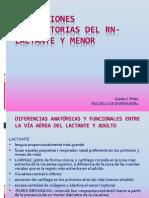 Alteraciones Respiratorias Del Rn-lactante y Menor