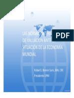 01- Las Normas Internacionales de Valuacion Ante La Situacion de La Economia Mundial - Rafael Bonnin