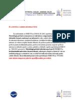 Adresa Modificari Grade Si Metodologii