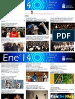 Agenda Cultural Del 29 de en Al 2 de FEB Tfe