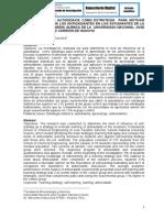 INFLUENCIA DE LA AUTODIDAXIA COMO ESTRATEGIA  PARA MOTIVAR  EL APRENDIZAJE DE LOS ANTIOXIDANTES EN LOS ESTUDIANTES DE LA ESCUELA DE INGENIERÍA QUÍMICA DE LA  UNIVERSIDAD NACIONAL JOSÉ FAUSTINO SÁNCHEZ CARRIÓN DE HUACHO
