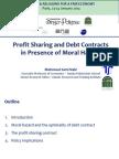 Mahmoud Sami Nabi - Profit sharing and debt contracts in presence of moral hazard