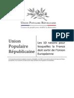 Les 10 raisons pour lesquelles la France doit sortir de l_UE.pdf