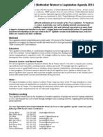 2014 UMW Legislative Agenda