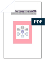 29117555 Mc Kinsey 7S Model Its Implementation in Infosys