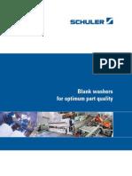 Blechumformung Pressenlinien Broschuere Platinenwaschmaschine e